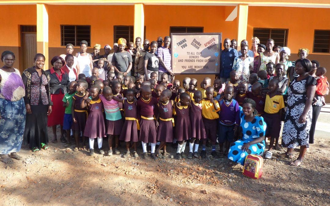 Die Lightray Primary School …. wir haben es wirklich geschafft!